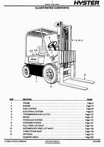 Toyotum Forklift Diesel Engine Part Diagram