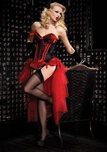 costumes for hire burlesque red valentina burlesque With robe cabaret burlesque