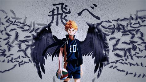 haikyu shoyo hinata  wings hd anime wallpapers hd
