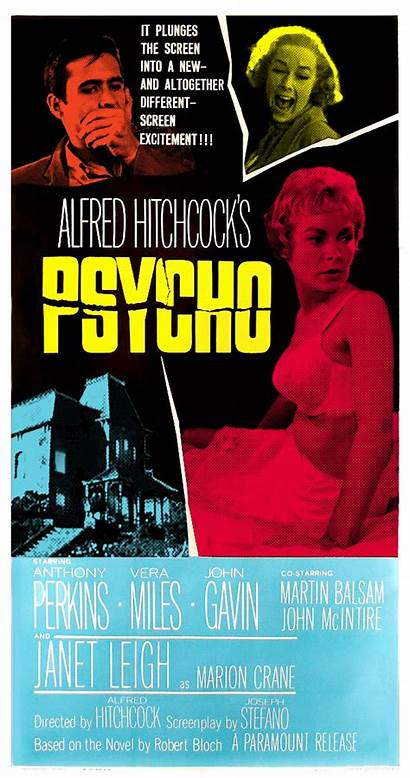 Psycho Poster Animated Posters Movies Gifs Horror