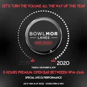 New Years Eve at Bowlmor Times Square | NYC New Years Eve 2021