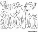 Coloring Sunshine Printable Popular sketch template