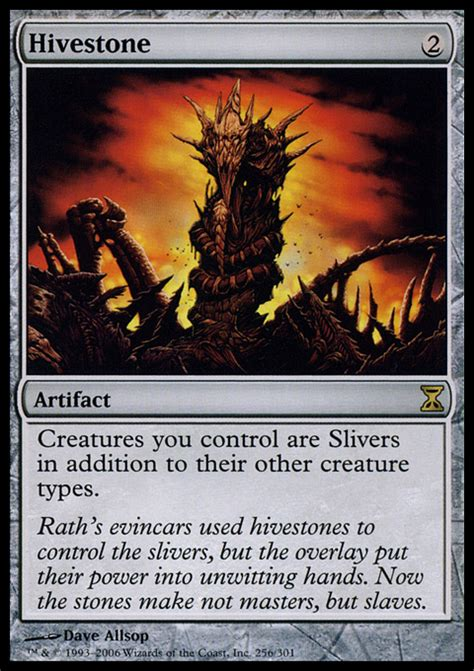 Best Sliver Deck 2015 by Hivestone Artifact Cards Mtg Salvation