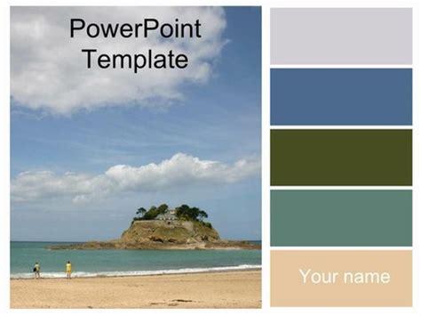 island powerpoint template