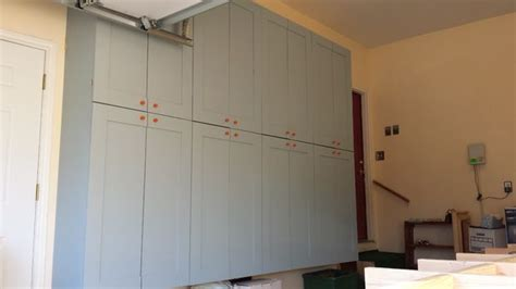 Garage Storage Cabinets With Doors by Garage Storage Cabinets I 10 Steps With Pictures