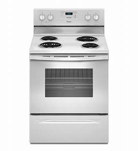 Wfc150m0ew Whirlpool 4 8 Cu  Ft  Standard Clean Electric