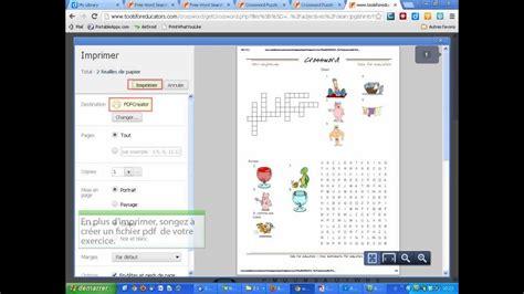 creer des mots croises  mots caches en image tools  educators  youtube