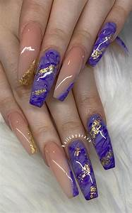 marble nail designs to try this summer