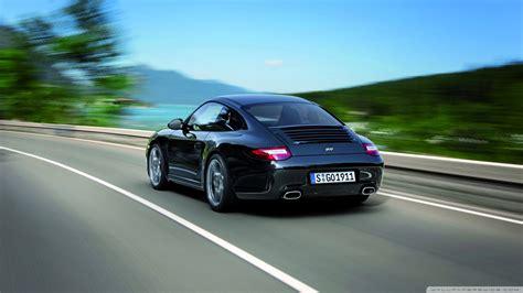Porsche 911 Black Edition Wallpaper 833472