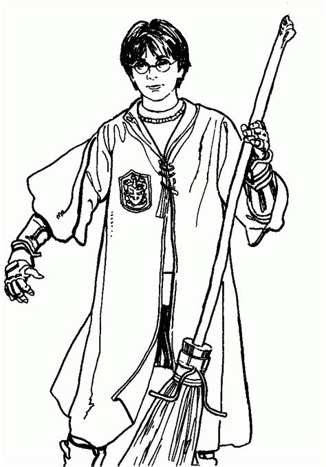 coloring pages harry potter coloring home