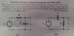 Solved  Choose One Of The Circuits Given Below And Derive