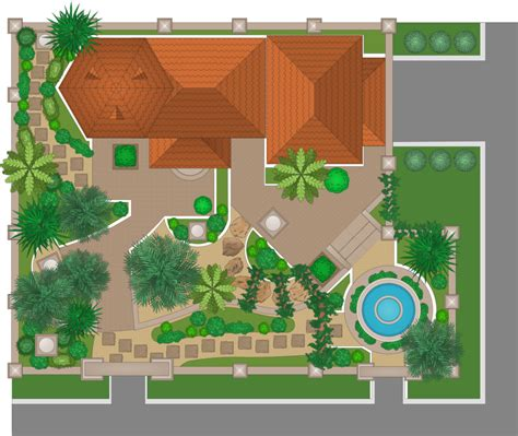 draw  landscape design plan