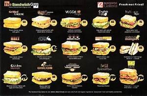 The Sandwich Guy Menu Seng Lao Cafe Pinterest Guys