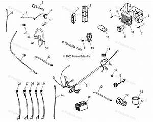 Polaris Atv 2006 Oem Parts Diagram For Electrical Parts