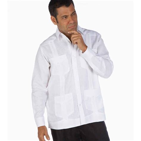 Deluxe Linen Guayabera shirt   20% OFF, Ships free on $40