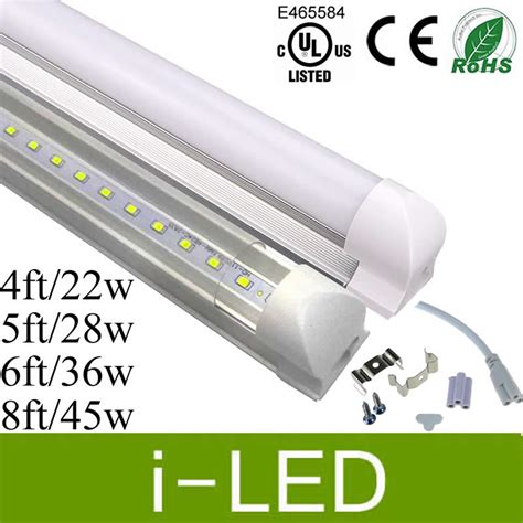 new led cooler lights t8 led 4ft 5ft 6ft 8ft led