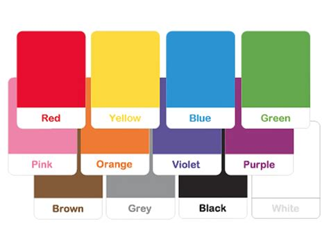 Color Flash Cards  Mr Printables