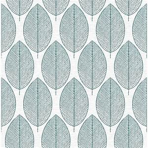 Graham & Brown Fresco Retro Leaf Wallpaper - 101688