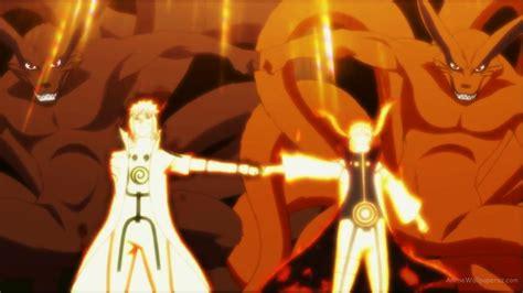 Naruto Minato Kyuubi Mode Hd Wallpaper