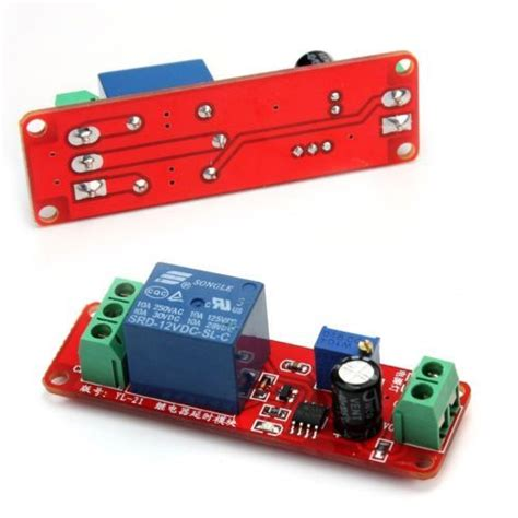 Delay Relay Shield Timer Switch Adjustable
