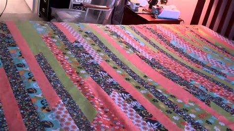 queen king jelly roll quilt part  finishing  top youtube