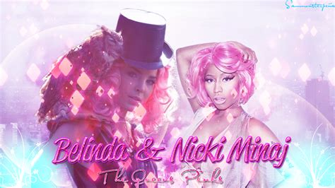 Belinda and Nicki Minaj Wallpaper by Sammonsterbitches on ...