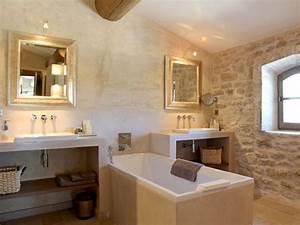 Chauffage Infrarouge Salle De Bain : les 25 meilleures id es concernant salle de bain en pierre ~ Dailycaller-alerts.com Idées de Décoration
