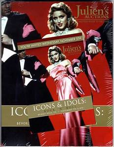 JULIEN S AUCTIONS - ICONS & IDOLS ROCK N ROLL 2014 CATALOGUE