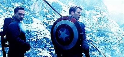 Bucky Steve Civil War Barnes Captain America