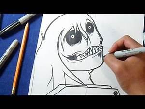 Cómo dibujar a Jeff The Killer How to draw Jeff The Killer YouTube