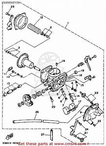 Yamaha Virago 250 Carburetor Diagram