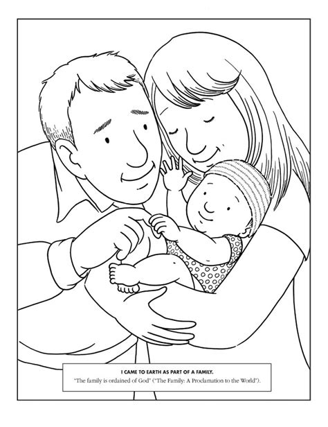 Mother Father And Baby Drawing at GetDrawings | Free download