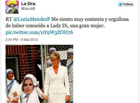 Lucia Mendez Meme - provoca burlas imagen de lucia m 233 ndez en redes sociales celebridades 09 09 2013 peri 243 dico