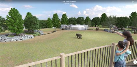 habitat elephant zoo future plan cincinnati plans unveils latest system garden renowned visits expert shape help cincinnatizoo