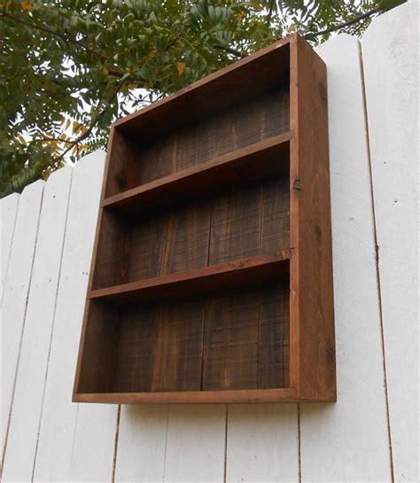 diy pallet wall cabinet shelf unit pallet furniture plans