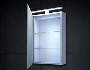 Wc Spiegel Mit Beleuchtung : alu led beleuchtung spiegelschrank g ste wc 40x60cm mc4601 ~ Frokenaadalensverden.com Haus und Dekorationen