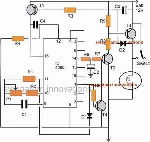 Car Head Lamp Fader Circuit
