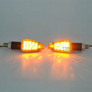 Lampu Sein Led Motor Turn Signal Indicator Blinker 2 Pcs