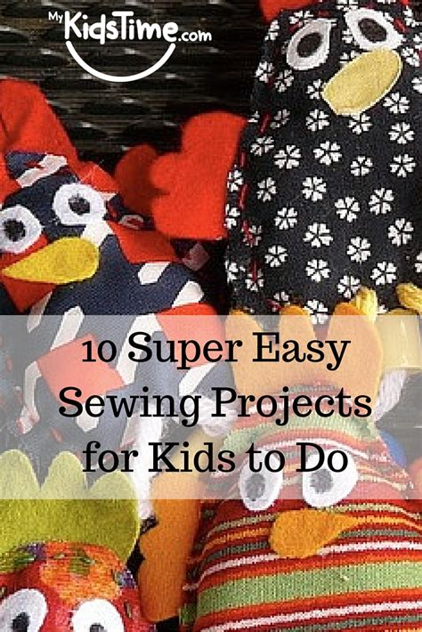 super easy sewing projects  kids