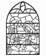 Coloring Advent Printables Activity Stained Glass Nativity Printable Crafts Window Christian Sheets Stain Zephyr Hill Any Craft sketch template