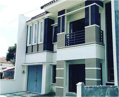 desain rumah minimalis  lantai   biayanya jual