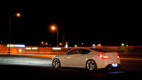 Android users need to check their android version as it may vary. Hyundai Genesis Night wallpaper   1280x720   #17091