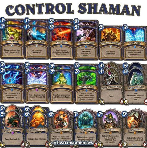 Shaman Deck Hearthstone by 17 Best Images About Hearthstone On