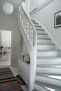Treppen Handlauf Vorschriften : treppe wei lackieren m bel und hausdesign ~ Markanthonyermac.com Haus und Dekorationen