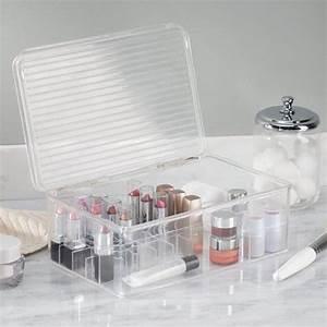 Boite De Rangement Maquillage : grande bo te de rangement maquillage interdesign ~ Teatrodelosmanantiales.com Idées de Décoration