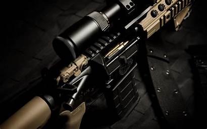 Rifle Ar15 Furniture Vapen Troy Magpul Rail