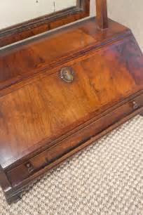 commode bureau antiques atlas walnut bureau toilet mirror