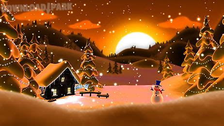winter snow  wallpaper lwp android animiert