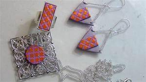 Tuto Pate Fimo : tuto fimo polymer clay foils et pochoirs sur pate polymere ~ Dode.kayakingforconservation.com Idées de Décoration