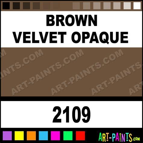 brown velvet opaque ceramcoat acrylic paints 2109